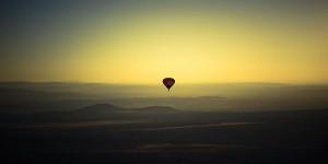 present till pojkvän luftballong