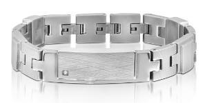 present till pojkvän graverad armband