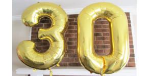 30 års födelsedagspresent