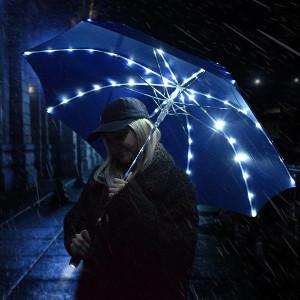 Bästa presenten - Paraply med LED